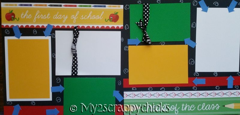 FIRST DAY OF SCHOOL   *  Page kit