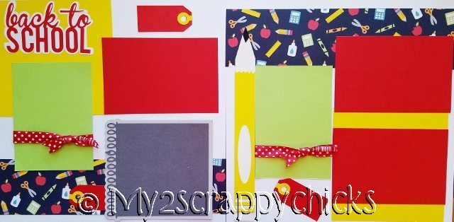 **** back to school Page Kit  page kit