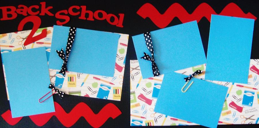 BACK TO SCHOOL BASIC Page kit