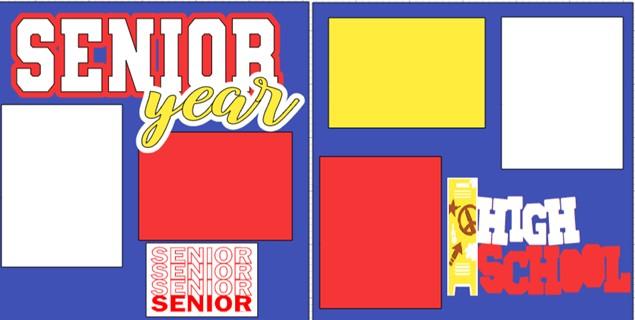 SENIOR YEAR       -  page kit