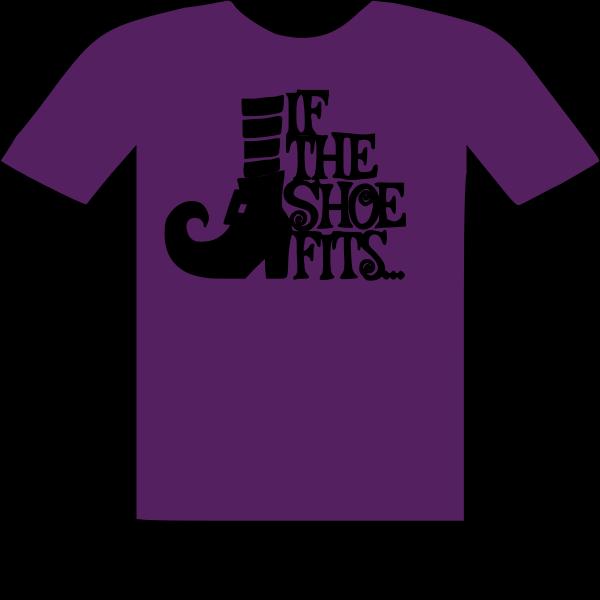 T-SHIRT IF THE SHOE FITS HALLOWEEN SHIRT