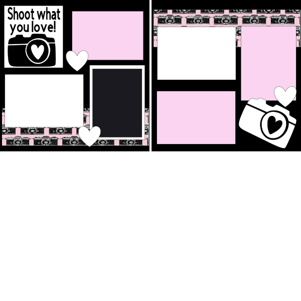 Shoot something you love ...Taking pictures  Page Kit