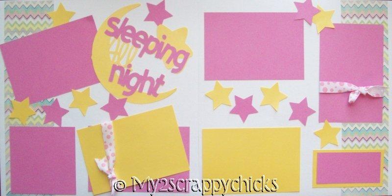 Sleeping girl Page Kit