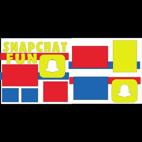 SNAPCHAT PICS -basic page kit