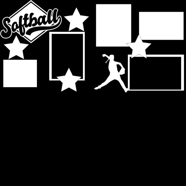 SOFTBALL (2)   -basic page kit