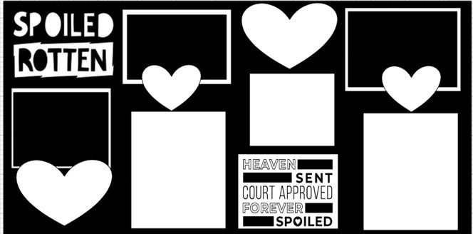 SPOILED ROTTEN    -  page kit