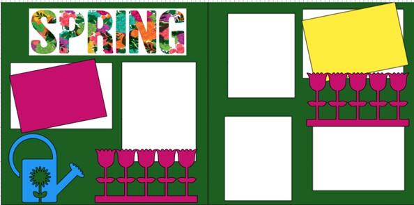 SPRING * -  page kit