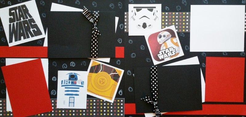 STAR WARS +++  page kit