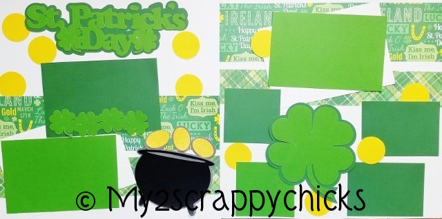 ST. PATRICKS DAY    page kit