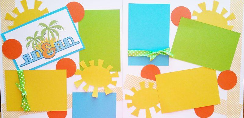 SUN & FUN ***   page kit