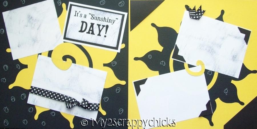 Sunshiny Day!  page kit