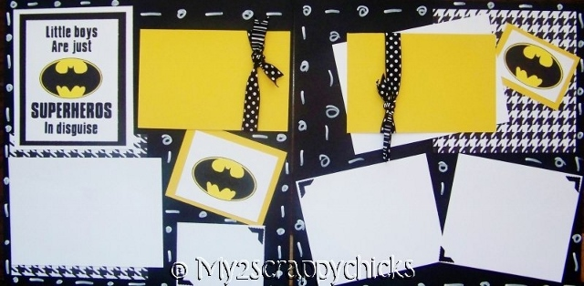 Superhero in disguise  Page Kit