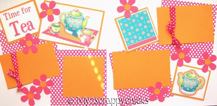 Time for Tea    - page kit