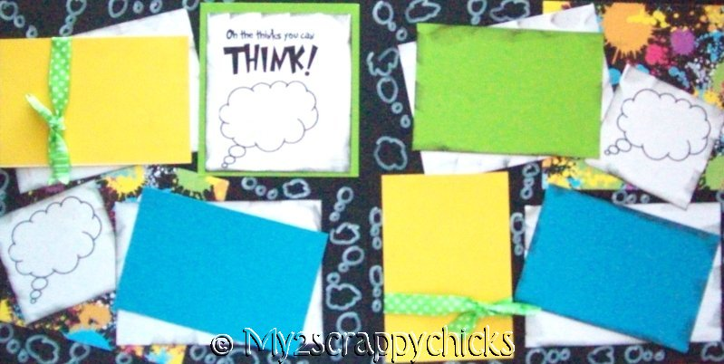 OH THE THINKS YOU CAN THINK!    page kit