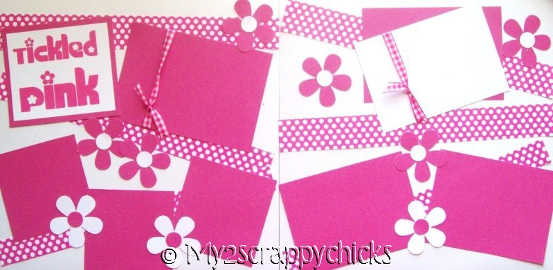 Tickled Pink   --   Page Kit