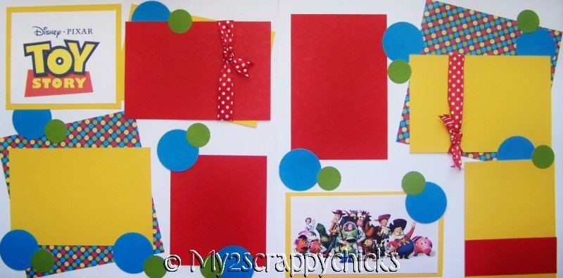 TOY STORY   Page Kit