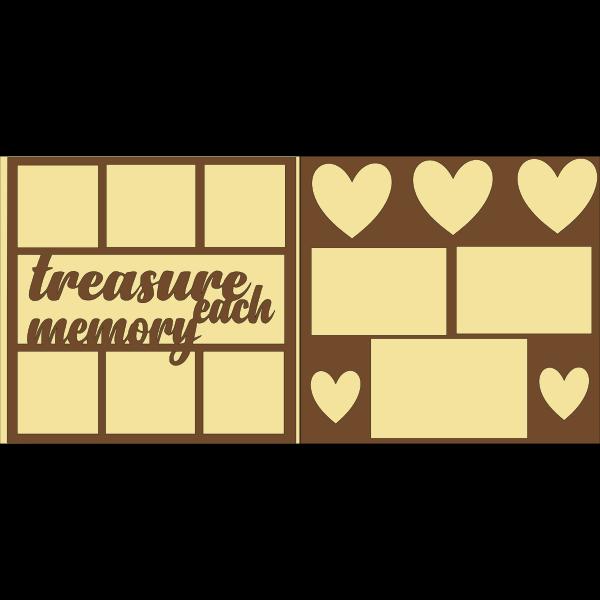 Treasure each memory -basic page kit