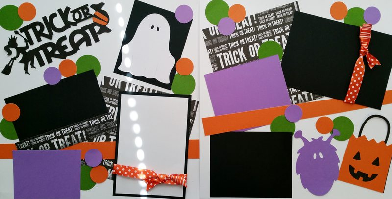 trick or treat **  page kit