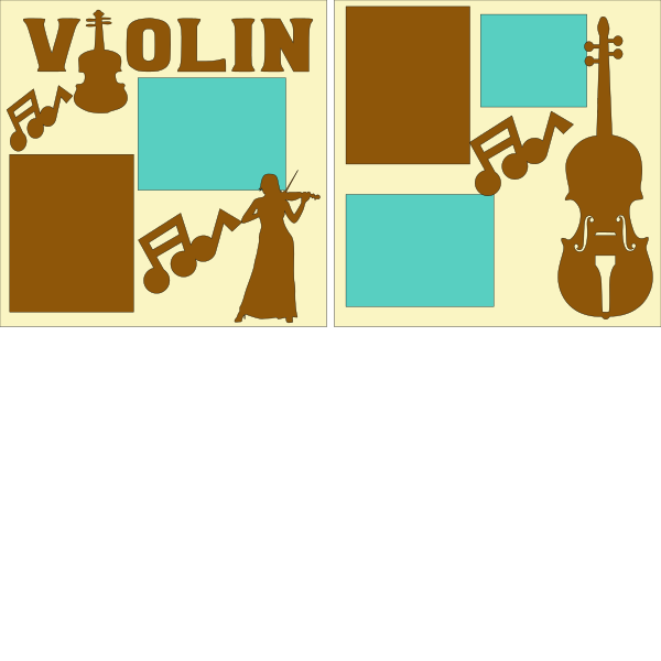 VIOLIN --  page kit