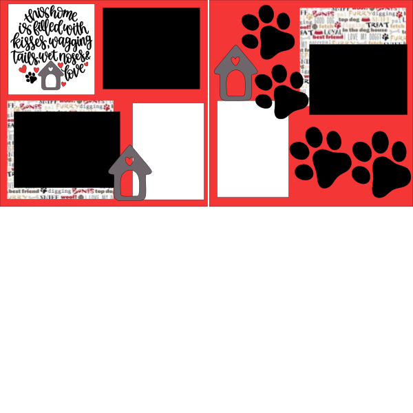 THIS HOME IF FILLED WITH (DOG)  -basic page kit