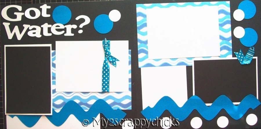 Got Water? Beach, Swimming, Bath  - page kit