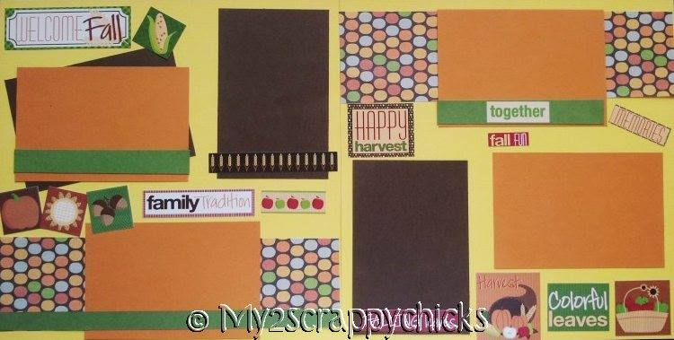 WELCOME FALL PAGE KIT