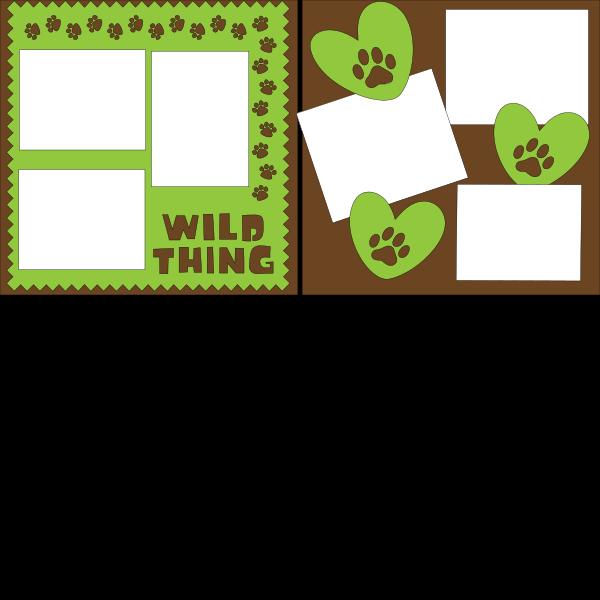 WILD THING  ... Page Kit