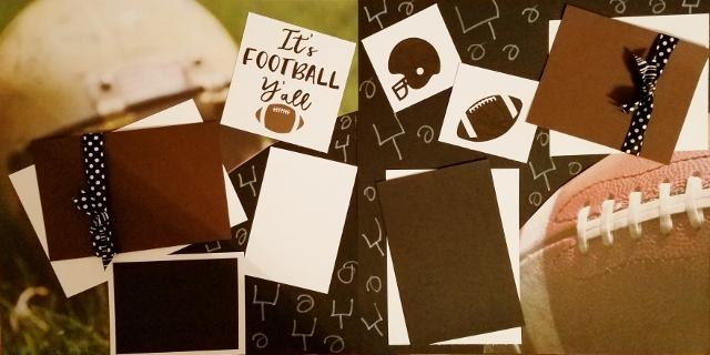 IT'S FOOTBALL YA'LL  page kit