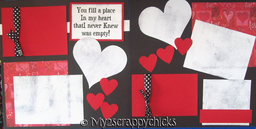 YOU FILL A PLACE IN MY HEART   Page Kit